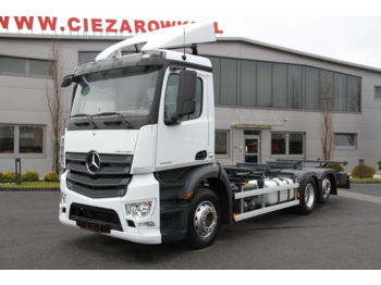 MERCEDES-BENZ ANTOS 2542 E6 BDF CHASSIS - cab chassis truck
