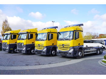 Cab chassis truck MERCEDES-BENZ Actros 2548 , E6 , 6x2 , BDF , chassis 7,3m , wheelbase 4.9m , S