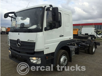 MERCEDES-BENZ NEW UNUSED ATEGO 1518 EURO 6 CHASSIS WITH BED - cab chassis truck