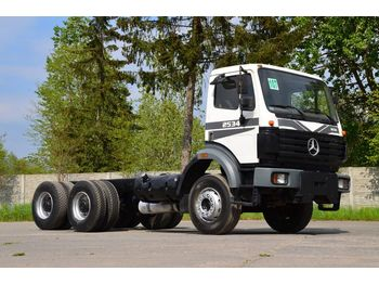Cab chassis truck MERCEDES-BENZ SK 2534 6x4 full spring