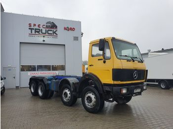 MERCEDES-BENZ SK 3028, 8x4, Full Steel, big axles, ENGINE V8 - cab chassis truck