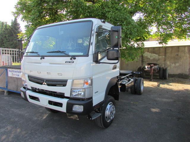 Cab chassis truck MITSUBISHI Fuso Canter 6C18 4x4 - Truck1 ID: 1196043