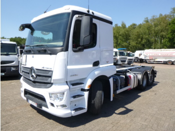 Cab chassis truck Mercedes Actros 2636 6x2 Euro 6 ADR chassis / container
