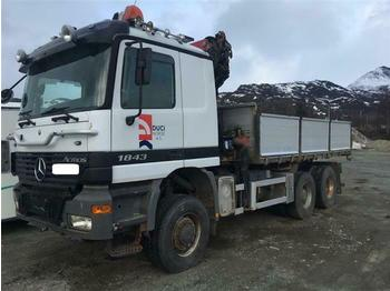 Cab chassis truck Mercedes-Benz ACTROS 1843 - SOON EXPECTED - 4X4+1 HMF1823 K5