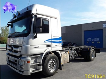 Mercedes-Benz Actros 1848 Euro 5 RETARDER - cab chassis truck