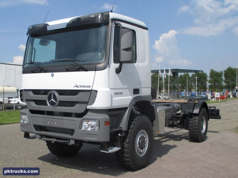 New mercedes benz actros 2036 a cab chassis truck for sale for Mercedes benz 4x4 truck