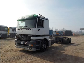 Mercedes-Benz Actros 2535 (FRONT STEEL SUSP / BIG AXLE / ITALIAN TRUCK) - cab chassis truck