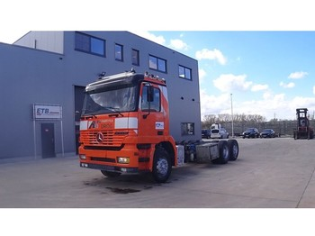 Mercedes-Benz Actros 2540 (BIG AXLE / FRONT STEEL SUSPENSION / DEVANT SUSPENSION LAMES / 6X2) - cab chassis truck