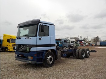 Mercedes-Benz Actros 2540 (FRONT STEEL/ BIG AXLE/ 6X2) - cab chassis truck