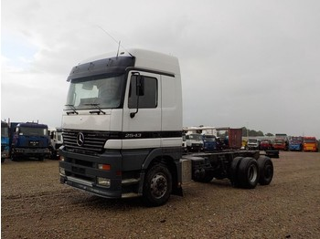 Cab chassis truck Mercedes-Benz Actros 2543 (FRONT STEEL SUSP. / 6X2)