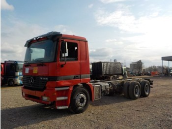 Mercedes-Benz Actros 2640 (BIG AXLE / STEEL SUSP) - cab chassis truck