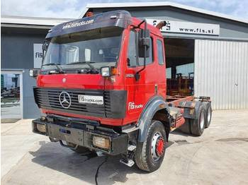 Mercedes Benz SK 2638 6X6 chassis - big axle - cab chassis truck