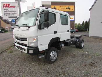 Cab chassis truck Mitsubishi Fuso Canter 6 C 18 D - 4x4