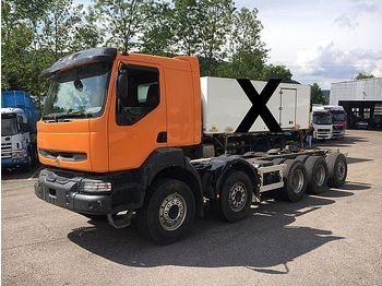 Cab chassis truck Renault KERAX 420 ohne Aufbau