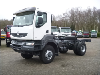 Renault Kerax 380 dxi 4x4 chassis + PTO / NEW/UNUSED - cab chassis truck