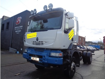 Renault Kerax 460 4x4 lames/steel - cab chassis truck