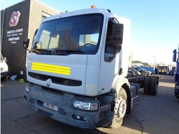 Φορτηγό σασί Renault Premium 260 manual pump lames /steel