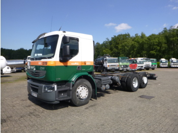 Cab chassis truck Renault Premium Lander 370 6x2 chassis + ADR