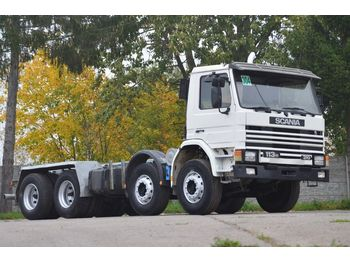 SCANIA 113 310 8x4 - 1991 - cab chassis truck