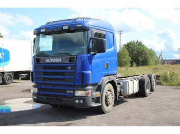 Cab chassis truck SCANIA 124.400: picture 1