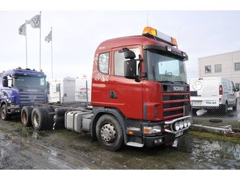Cab chassis truck SCANIA 124 GB6X2NB400