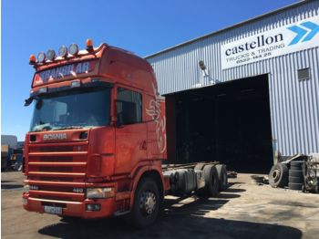 SCANIA 144 - cab chassis truck