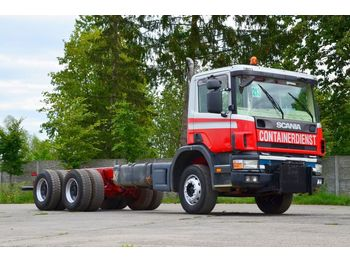 Cab chassis truck SCANIA P124C 420