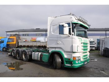 SCANIA R - cab chassis truck