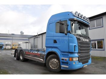 Cab chassis truck SCANIA R480LB6X2*4MNB