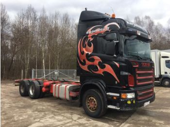 SCANIA R500 6x4 MANUAL - cab chassis truck