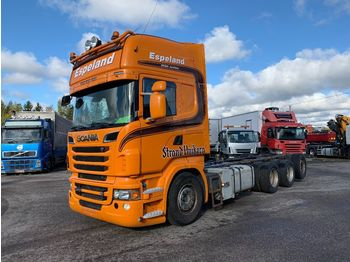 Cab chassis truck SCANIA R620 8x4*4