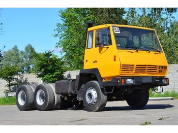 Cab chassis truck STEYR 1491 6x4: picture 1