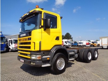 Cab chassis truck Scania 124C 420 + Manual + Retarder + 6x4