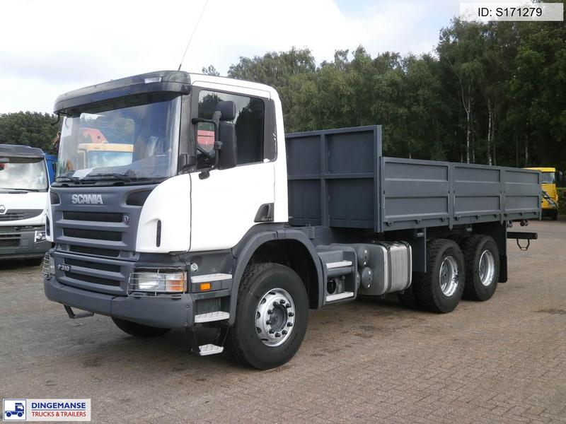 316864a576e289 Scania P 310 CB 6X4 open box NEW unused + PTO cab chassis truck from ...