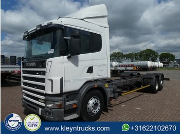 Cab chassis truck Scania R124.400 6x2 manual retarder