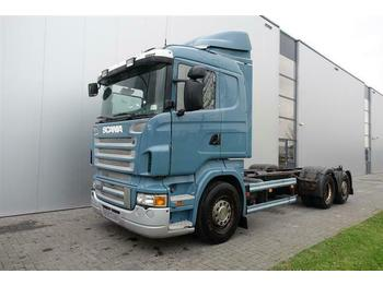 Cab chassis truck Scania R420 6X2 CHASSIS STEERING AXLE EURO 4