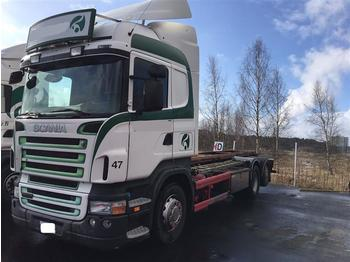 Scania R420 - SOON EXPECTED - 6X2 CHASSIS RETARDER EURO  - cab chassis truck