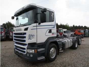 Cab chassis truck Scania R450 6x2 Euro 6 Fahrgestell