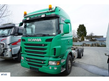 Cab chassis truck Scania R500