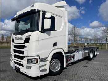 Cab chassis truck Scania R500 6X2 BDF EURO 6 RETARDER NEXT GEN FULL AIR