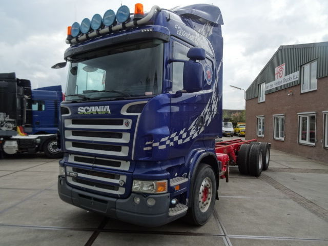 Cab chassis truck Scania R 620 MANUAL/6X4/RETARDER/CHASSIS - Truck1 ID:  1527983