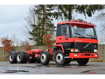 Cab chassis truck VOLVO FL12 380 8x4 model 1998 - chassis