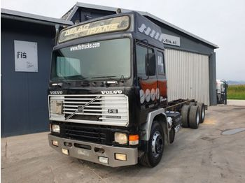 Cab chassis truck Volvo F16 470 6x4 chassis