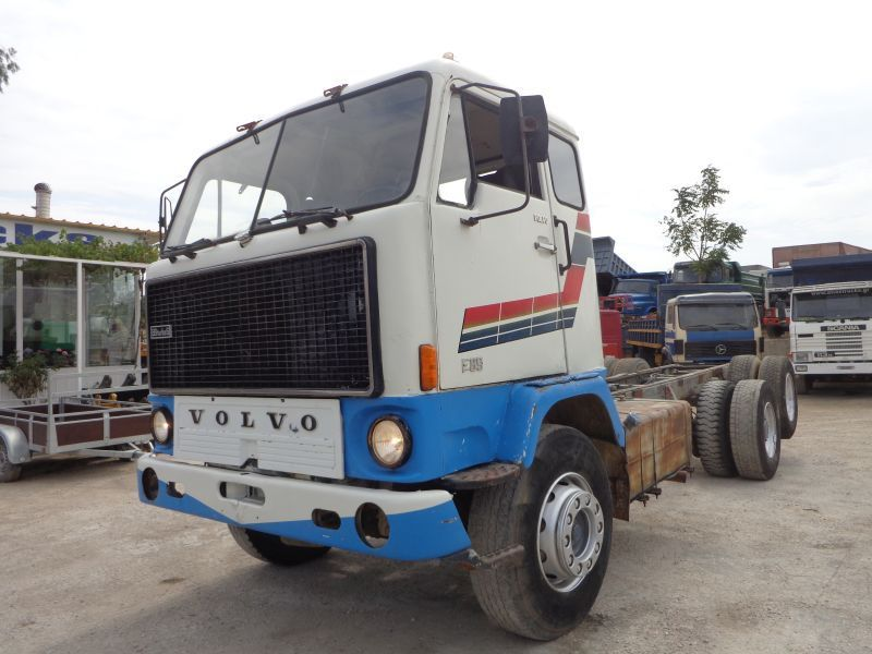 Volvo F89 6x2 Shassis Amp Cabin Cab Chassis Truck From Greece
