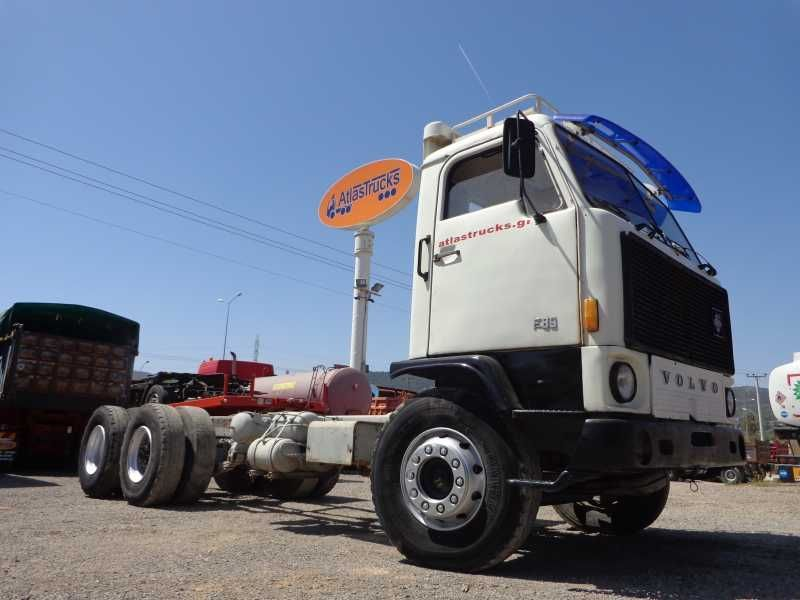 Volvo F89 6x2 Single Cabin Cab Chassis Truck From