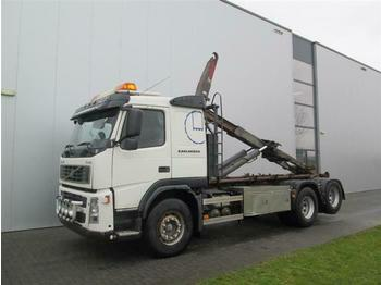 Volvo FM420 HOOKLIFT MANUAL FULL STEEL EURO 3  - cab chassis truck