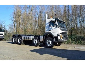 Volvo FMX 500 8x6 - cab chassis truck