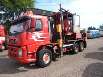 Cab chassis truck Volvo FM 12 420 6x6 steel suspension