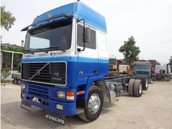 Cab chassis truck Volvo VOLVO F12(6X2) GLOBETROTTER