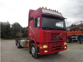 Cab chassis truck Volvo VOLVO F16 (6X2) GLOBETROTTER WITH TELMA!